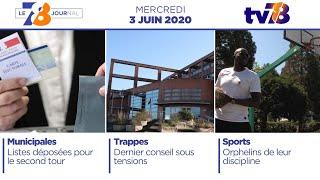 7/8 Le Journal. Edition du mercredi 3 juin 2020