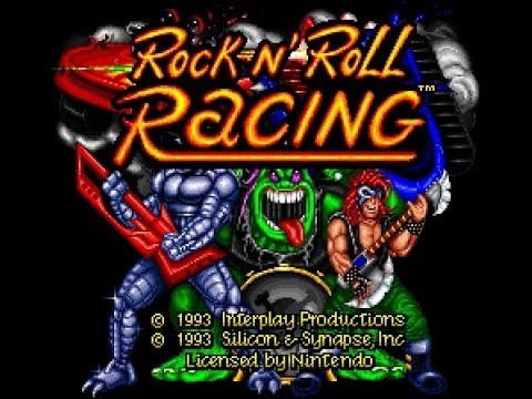SNES Longplay [311] Rock N' Roll Racing