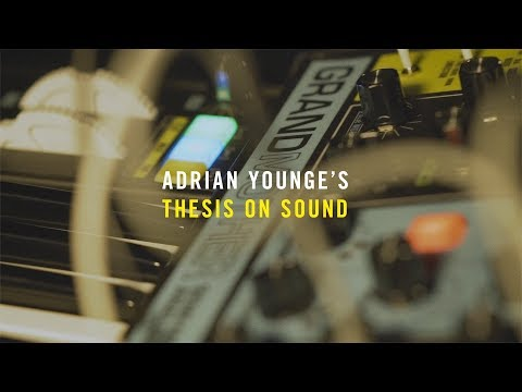 Adrian Younge's Thesis On Sound ft. Moog Grandmother