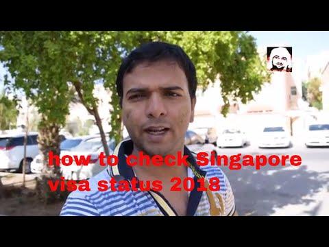 how to check Singapore visa status via passport number or NRIC No/FIN/ Malaysian New IC No/ WP No