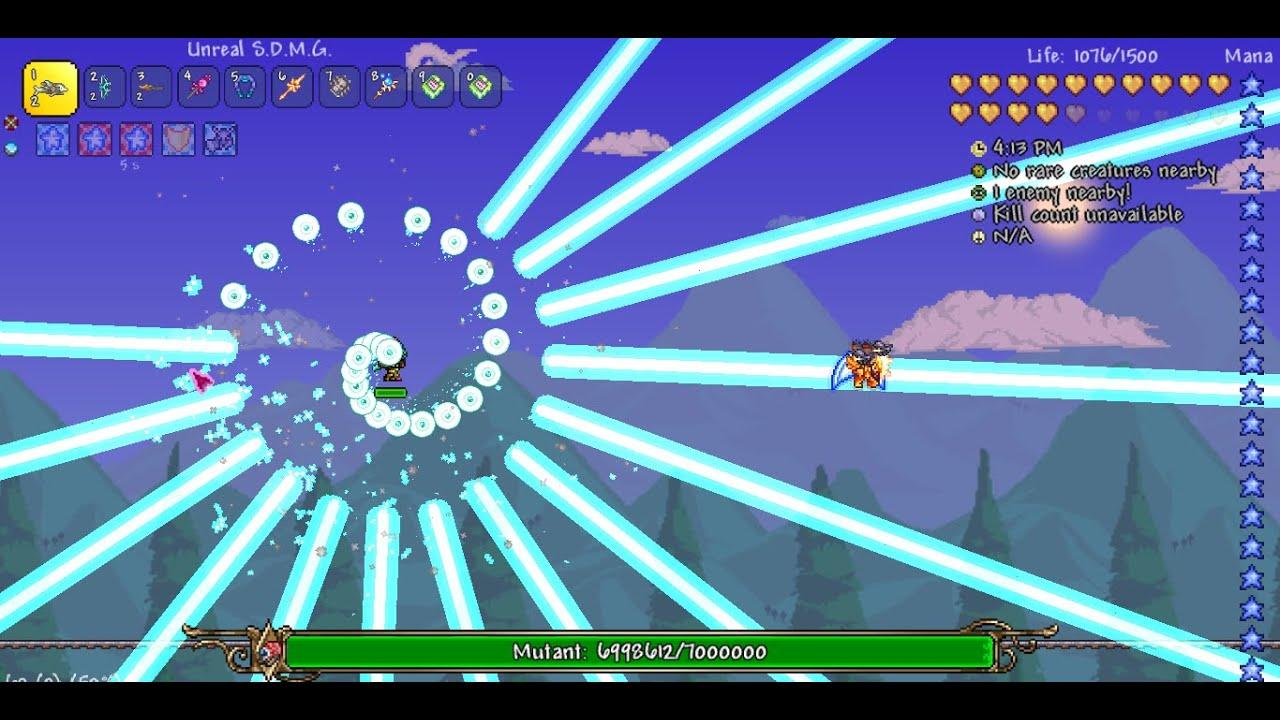 Terraria - Masochist Mode Final Boss: Mutant [Fargo's Souls Mod]