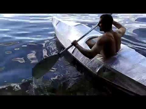 лодка из пищевой пленки своими руками