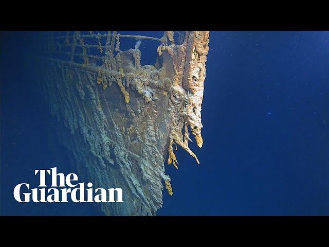 Undersea explorers reveal new images of the Titanic wreakage