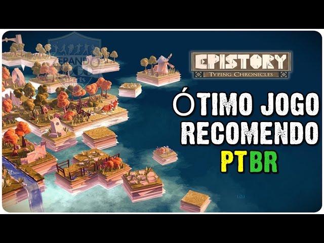 Epistory - The Typing Chronicles - Amostra Grátis - ÓTIMO JOGO - PT-BR - gameplay