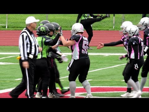 Women's Football - Western Connecticut Hawks vs NY Knockout - Schenectady, New York - May 12, 2018