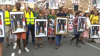 G7 di Biarritz: la marcia dei ritratti