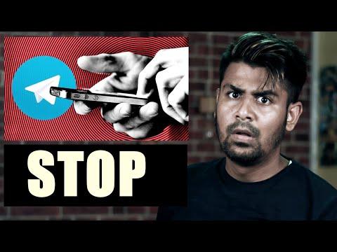 STOP Using Telegram !!