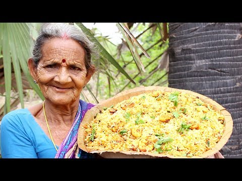 Prawns Biryani Recipe Indian Style by my Grandma || Myna Street Food