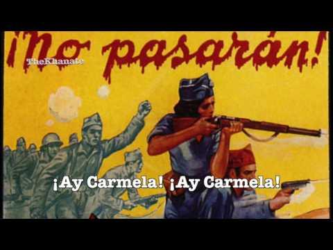 İspanyol Komünist Şarkısı: \