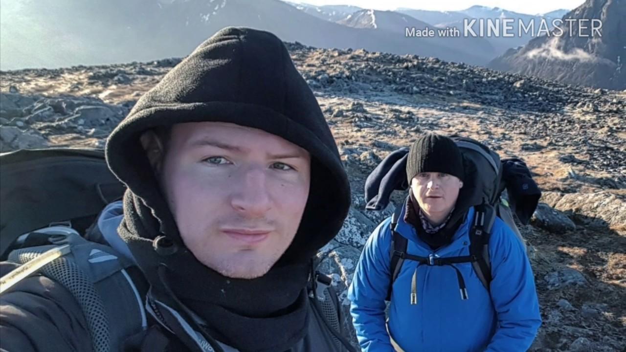 Wild camping glencoe and loch lomond - YouTube
