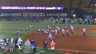 アサヒビールシルバースター 対 東京ガスクリエイターズ Xリーグ2013リ...