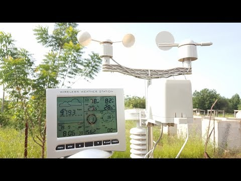 Fixing Blocked Anemometer on a Wireless Weather Station - Case of Alecto WS 5000