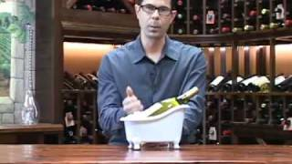 Bathtub Wine Bottle Chiller From Wine Enthusiast