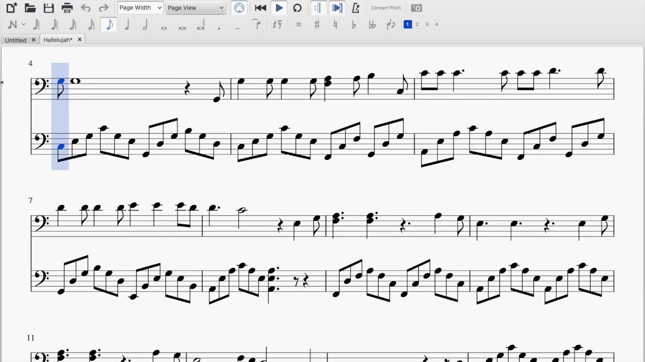 Hallelujah (Cello Duet Sheet Music)