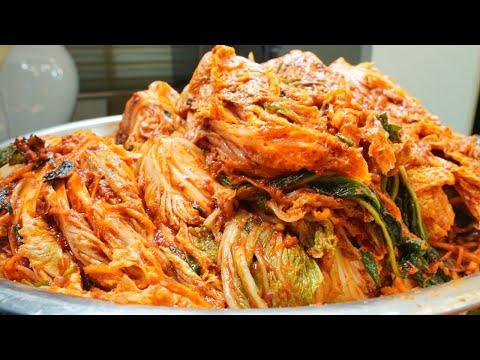 김장김치 담그기, 건강하고 깔끔한 항산화 배추김치 맛있게 담그는 법, 배추 10포기 양념 만들기