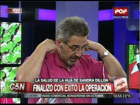 C5N - SOCIEDAD: LA SALUD DE LA HIJA DE SANDRA DILLON