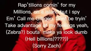 BadZach - Rattle (Lyric Video)