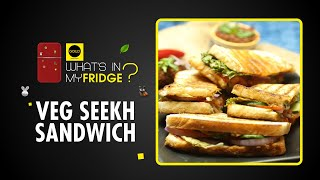 Veg Seekh Sandwich | Sun-dried Tomato Pesto | Veg Recipe | What's In My Fridge? | Goeld Frozen Food