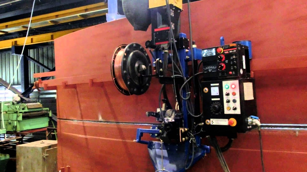 Saw Girth Welding Machine Suitable For Jacking Youtube
