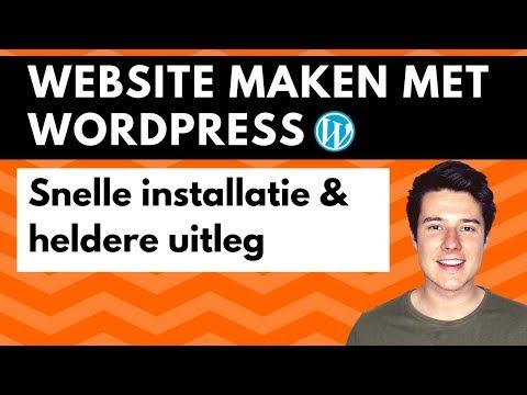 Website maken met WordPress 2018