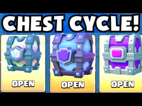 GUARANTEED LEGENDARY CHEST / EPIC CHEST | Clash Royale CHEST CYCLE TRACKER PATTERN CONFIRMED