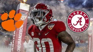 Alabama vs Clemson 2019 National Championship hype up video