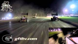 Fonda Speedway CRSA Feature Dustin Purdy In-Car Camera
