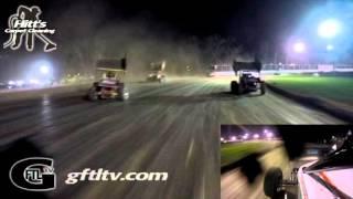 Fonda Speedway CRSA Feature Dustin Purdy In-Car Camera