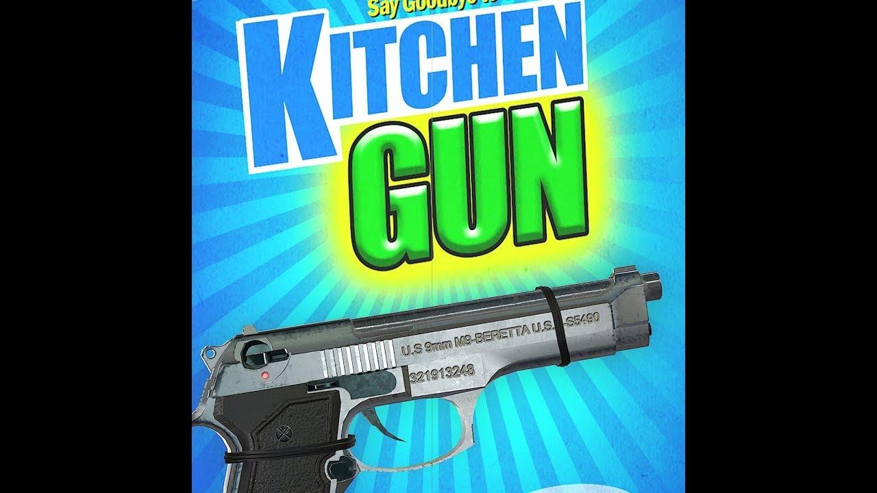 KITCHEN GUN! - YouTube