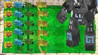 Plants vs Zombies vs Dr. Zomboss Minecraft thumbnail