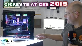 Gigabyte at CES 2019 - LEO sees the new RTX cards and SYSTEMS!