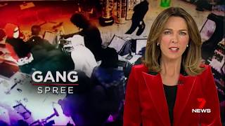 Seven + Nine News. Black Gang Spree.(Media Didn't Hide This One)(Laverton)