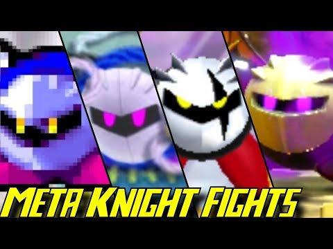 Evolution of Meta Knight Battles (1993-2018)