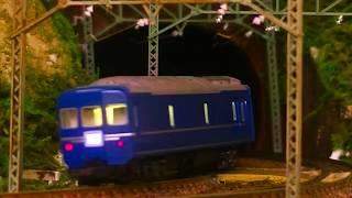 (※過去動画の再編集)Nゲージ鉄道模型 EF65-1000_24系25形特急型客車