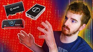 """CAPTURE CARDS: """"Onboard Encoder Chips"""" DON"""