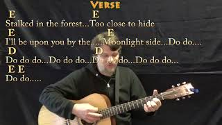 Hungry Like the Wolf Duran Duran Strum Guitar Cover Lesson with ChordsLyrics