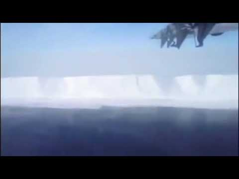 "FLAT EARTH - ""The Ice Wall"" AMAZING FOOTAGE!"