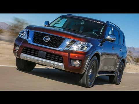 Plug In Hybrid 2018 Nissan Armada Review Suv Notes By Autosd Tutocars