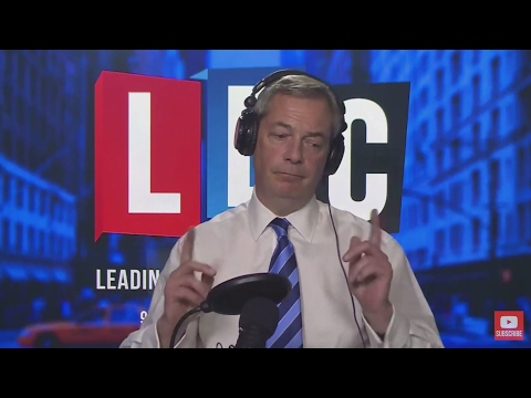The Nigel Farage Show: Article 50 - Juncker. Live LBC - 30th March 2017