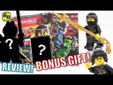 NYA!! LEGO NINJAGO MAGAZINE BONUS GIFT! ISSUE 37 REVIEW