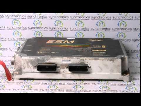 Dresser Waukesha Esm Engine Control Unit 740824b Repaired At Synchronics