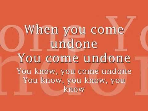 Placebo- Come Undone (with Lyrics)