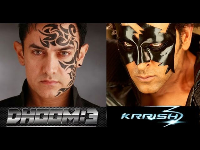 Krrish 3  V\S  DHOOM-3  - Official Trailer hd  beSt  film Travel Video
