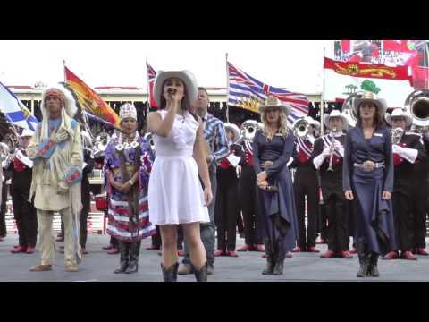 Sofi Munson - Oh Canada Calgary Stampede 2016