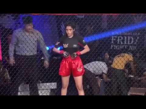 Telugu GuruMovie 2017 Heroine Ritika Singh Real International Boxing Match