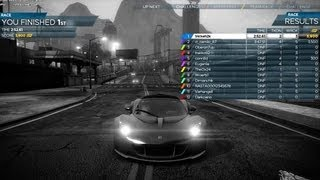 Need for Speed Most Wanted - Multiplayer Gameplay PC Hennesey Venom GT Spyder