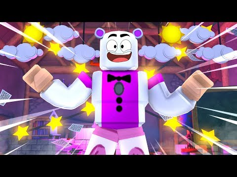 Funtime Freddy TRAPPED In Roblox! Minecraft FNAF Roleplay