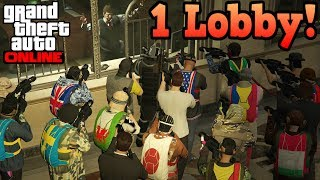If GTA Online was just 1 lobby
