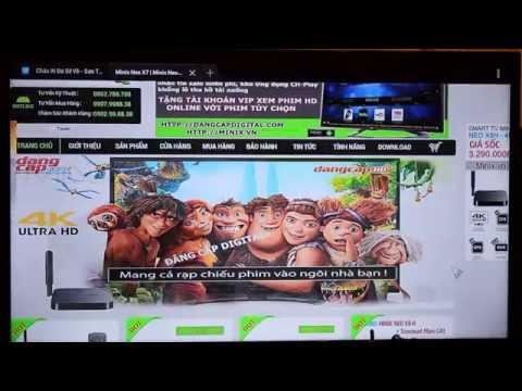 Minix Neo X9, Neo X8 Plus- Xem Phim HD online - Nghe Nhạc - Lướt Web - Miễn Phí
