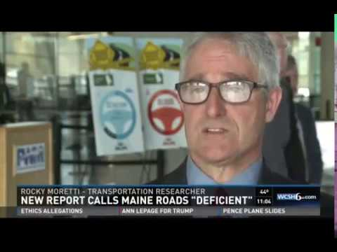 Maine Transportation by the Numbers TRIP Report 10-28-2016 1